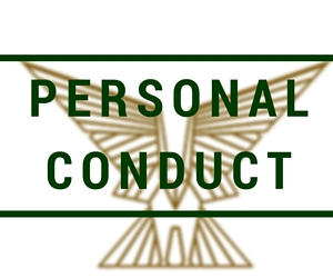Personal Conduct Overseas