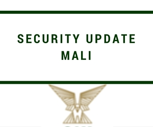 Mali Security Update – October 2016