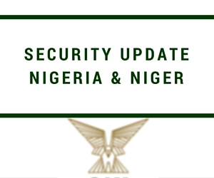 Nigeria and Niger Security Update – June 2016