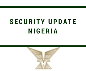 Nigeria Security Update – May 2017