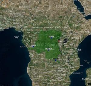 DRC Map OAMME.com