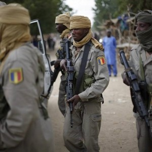 Chadian Soldiers on patrol in Gao, Mali OAMME.com