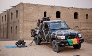 Malian soldiers in the north of the country oamme.com