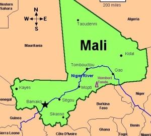 Mali Map - oamme.com