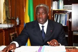 Presidential aspirant Raymond Ndong Sima