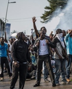 Violence after elections in Gabon, oamme.com