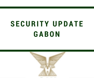 Gabon Elections and Security Update – October 2016