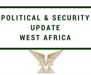 West Africa political and security Update  – January 2017