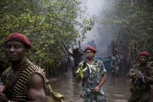 Niger Delta Avengers in the Delta