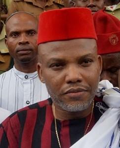 Pro-Biafra political activist and leader Nnamdi Kanu
