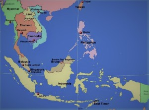 Regional Map - SE Asia Security Update from Oamme.com