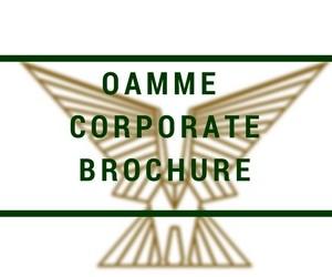 oamme - corporate brochure