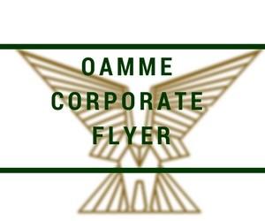 oamme corporate flyer
