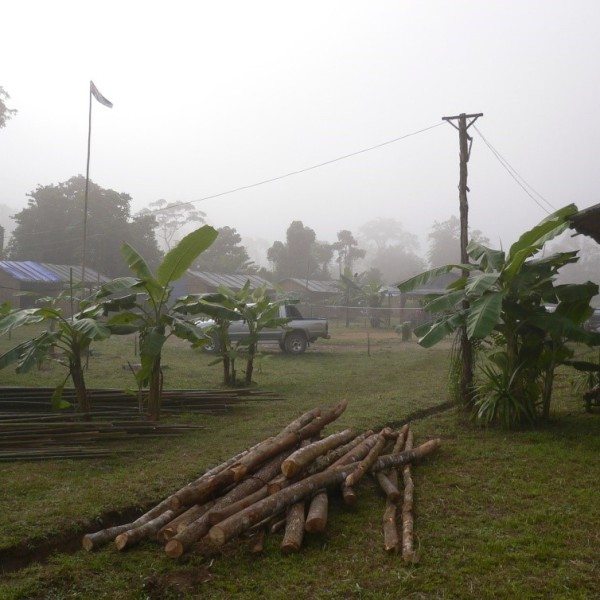 Project site northern Laos